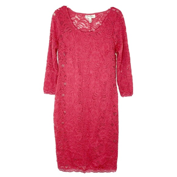 Jessica Simpson Maternity Stretch Lace Dress
